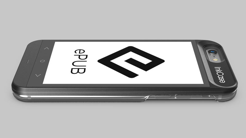 ePub support InkCase i6 eReader for iphone 6