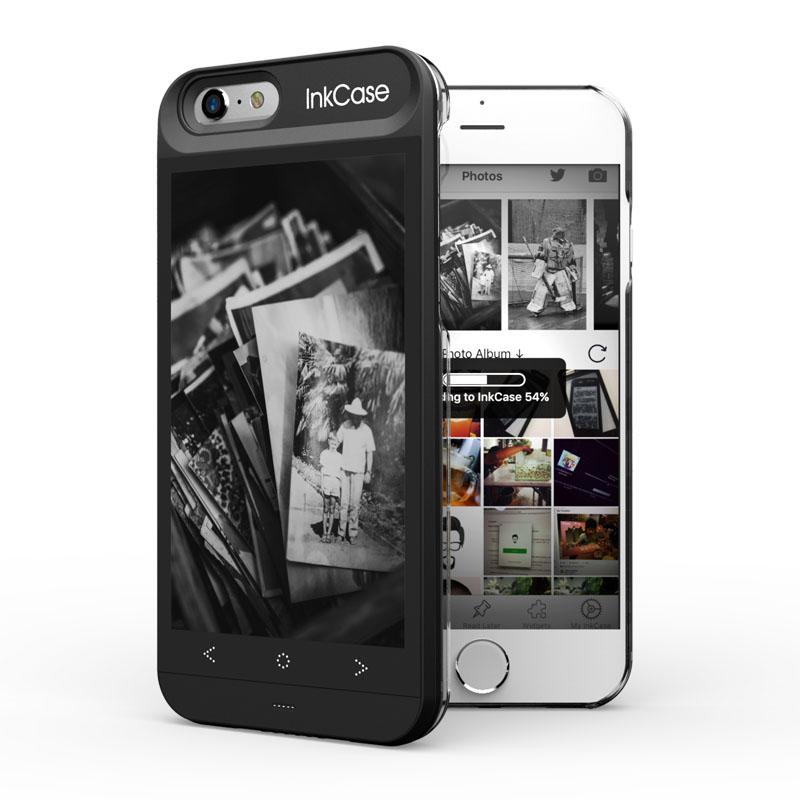 InkCase i6 eReader for iphone 6 image uploading for wallpaper display
