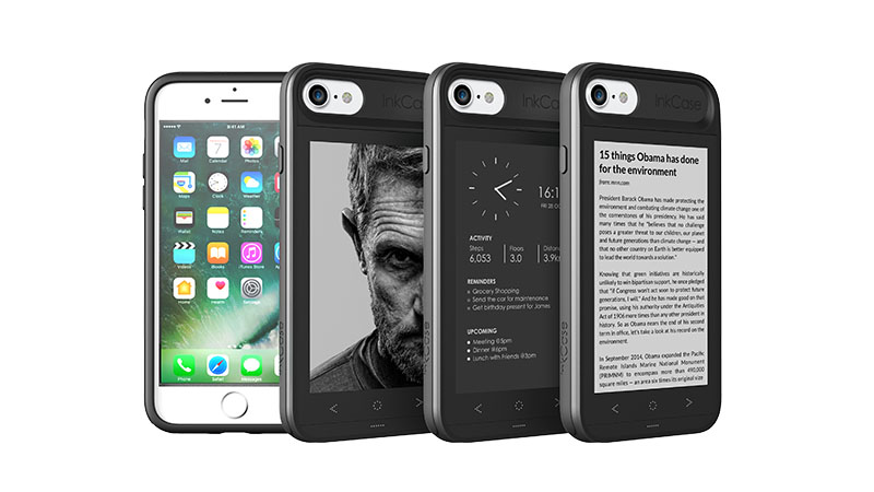 Digital ink case for iphone