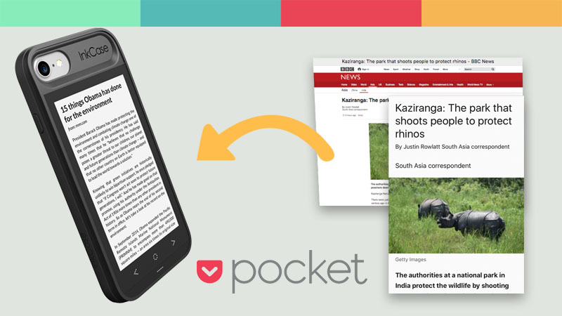 InkCase Pocket Integration